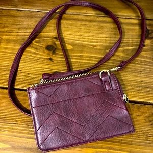 FWP Maurices wallet with purse strap